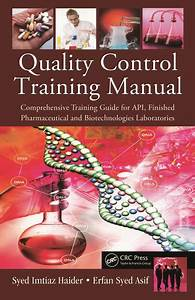 Quality Control Training Manual  Comprehensive Training