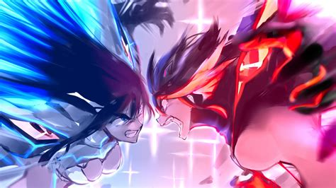 Anime Fighting Wallpaper - wallpaper illustration anime fighting kill la kill