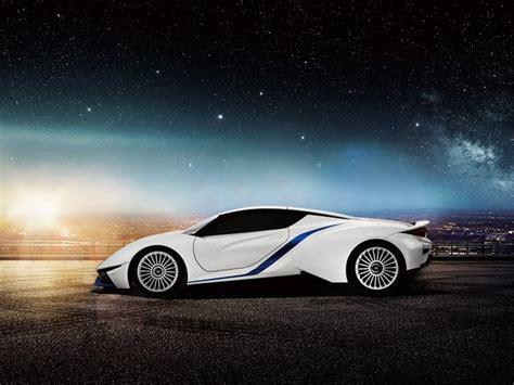 Baic Unveils Arcfox-7 Electric Supercar