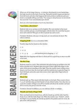 44 Free Esl Brain Worksheets