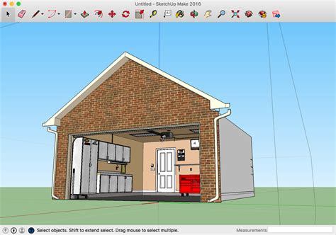 Design Your Garage, Layout Or Any Other Project In D For