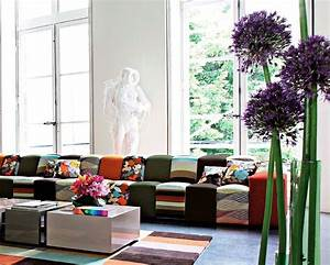 Rythme Sofa By Roche Bobois   Missoni Home