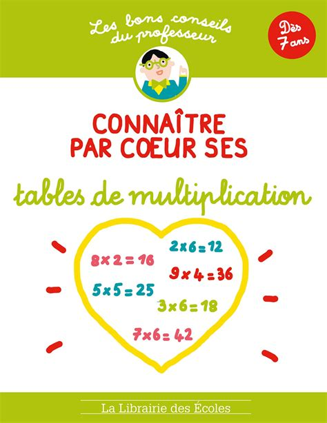 5 techniques efficaces et ludiques pour apprendre ou se rappeler des tables de multiplication