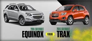 2016 Chevrolet Trax VS Chevrolet Equinox Model Comparison El Paso TX