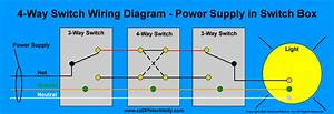 3 Way Switch Wiring Diagram Generic 4 And