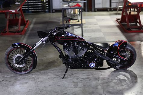 occ  auction custom motorcycle  support  hurricane