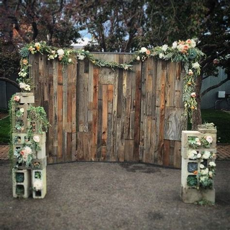 50 Fab Rustic Wood Pallet Wedding Ideas Pallet Wedding