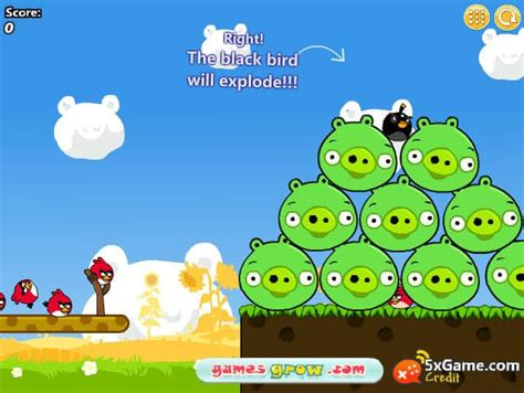 angry birds cannon   play   funnygamesin