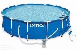 Grande Piscine Tubulaire : grande piscine tubulaire intex 5 49 x 1 22 m boutique jardinitis ~ Mglfilm.com Idées de Décoration