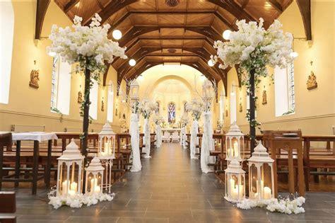 church wedding decorations  flowers decoration
