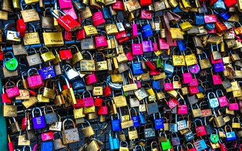 locks mech abstract photography color bokeh wallpaper