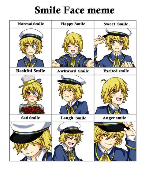 Vocaloid Meme - oliver vocaloid smile face meme oliver by happywell vocaloid pinterest art smile face