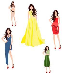 Fashion Design Templates Dress