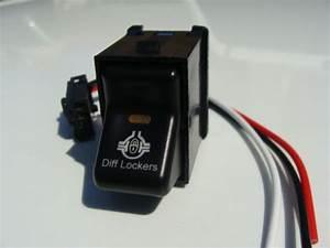 Jeep Tj Wrangler Differential Locker Switch New Item