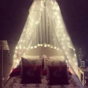 AMARS Safe Voltage Bedroom String LED Curtain Lights