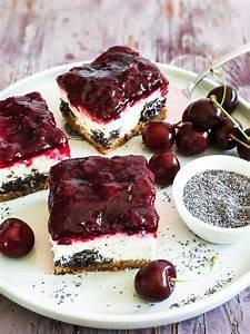 Kirschkuchen Blech Pudding : kirsch mohn quark kuchen vom blech rezept mit bild von ~ Lizthompson.info Haus und Dekorationen