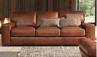 natuzzi leather sofa Haynes Furniture. Natuzzi Campbell Top-Grain Leather Sofa