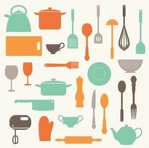 Kitchen Baking Utensils Clip Art Clipart Set by ...
