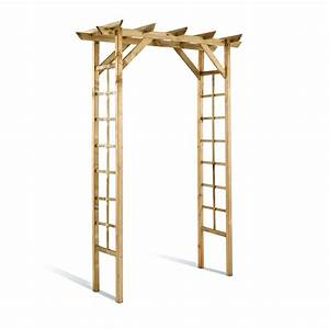 Pergola Bois Leroy Merlin : pergola de jardin bois ~ Premium-room.com Idées de Décoration