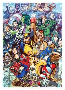 Marvel Vs Capcom Artwork
