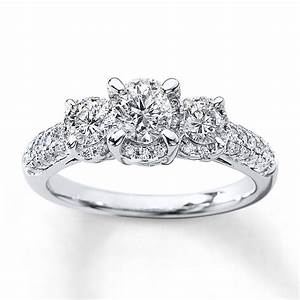 3 stone real diamond rings wedding promise diamond With real diamond wedding rings