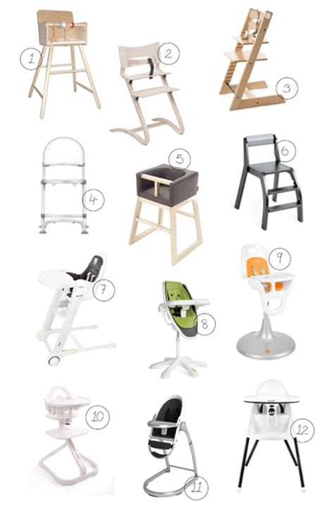 best high chairs for the modern baby