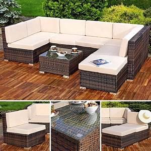 Polyrattan Sitzgruppe Braun : polyrattan sofa sitzgruppe lounge braun ~ Watch28wear.com Haus und Dekorationen