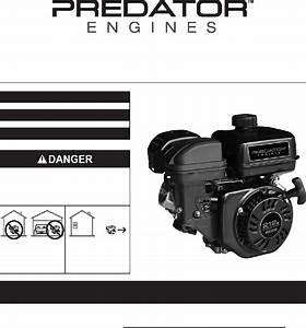 Predator 212 Engine Owner U0026 39 S Manual Pdf View  Download