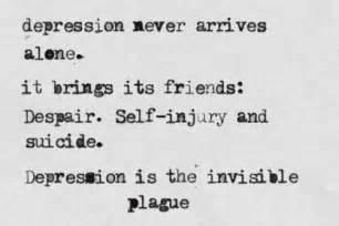 Depression Hurts Quotes