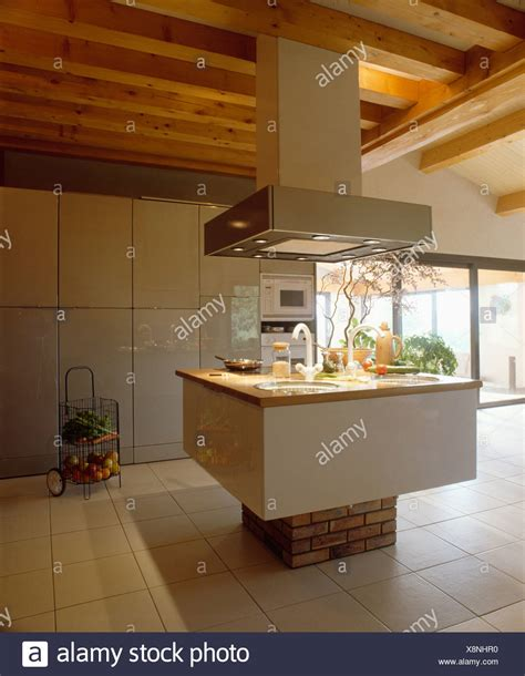 kitchen sink extractor kitchen island large extractor fan stock photos kitchen 2697