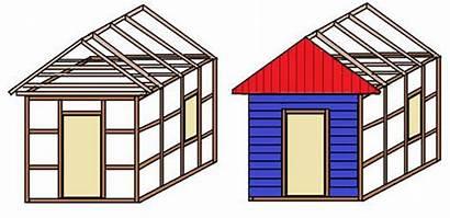 Gartenhaus Bauanleitung Bauen Selber Bauzeichnung Garten