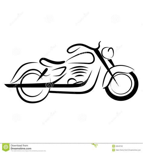 chopper motorcycle stock vector illustration  sporty