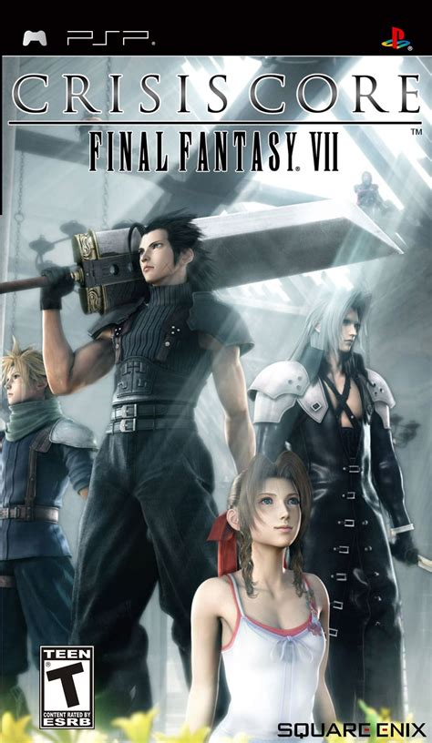 Crisis Core Final Fantasy Vii Psp Review Any Game