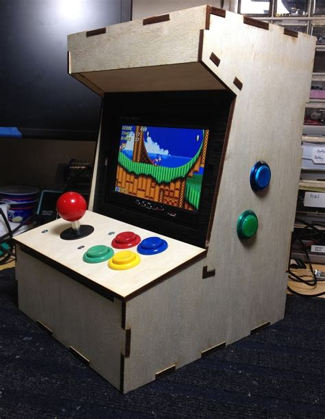 the porta pi a diy mini arcade cabinet for raspberry pi