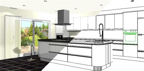 computer kitchen design kitchen design drawing at getdrawings free for 2416