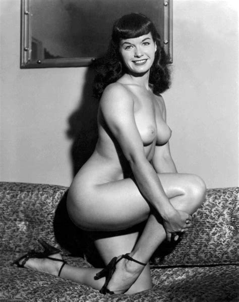 Nude Pinup A Bettie Page Special