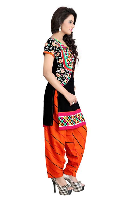 dress vsw1038 buy multicolor printed crepe unstitched salwar with