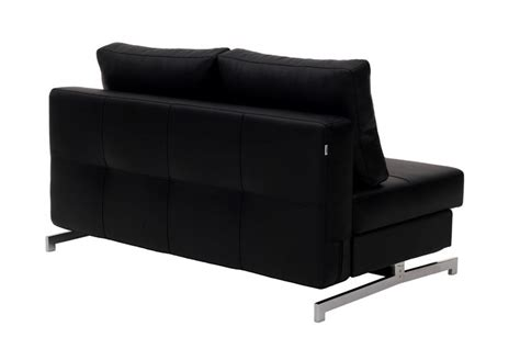 Contemporary Leather Sofa Bed by Black Leather Contemporary Comfortable Sofa Bed K43