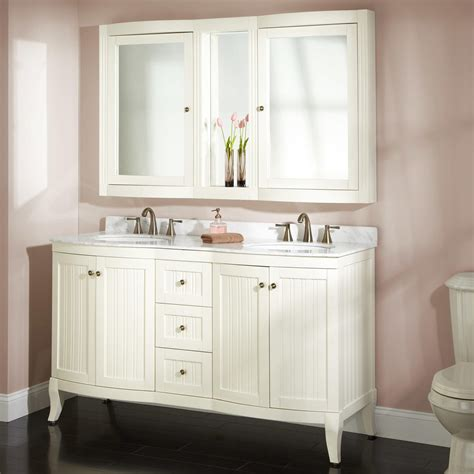 palmetto creamy white double vanity set double sink