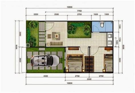 pengertian ukuran rumah tipe  blog material bangunan