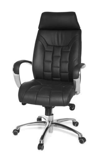 amstyle design fauteuil de bureau turin en cuir v 233 ritable avec m 233 canisme synchrone charge