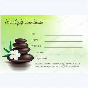 bring in clients with spa gift certificate templates With salon gift certificate template free download