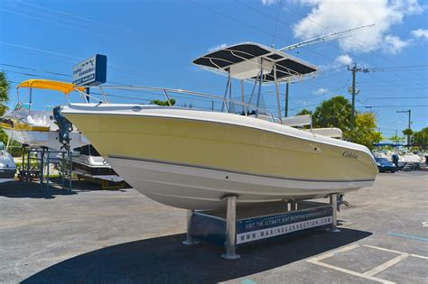 used 2004 cobia 214 center console boat for sale in west palm fl 04l0 new used