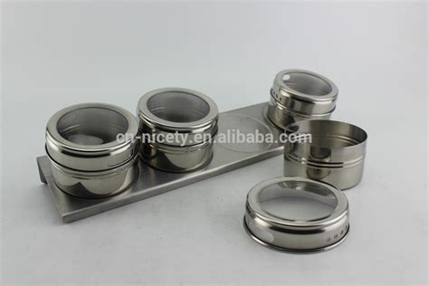 cheap kitchen canister sets wholesale flexible stainless steel kitchen metal condiment canister set buy stainless steel