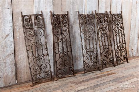 decorative wrought iron scrollwork railings