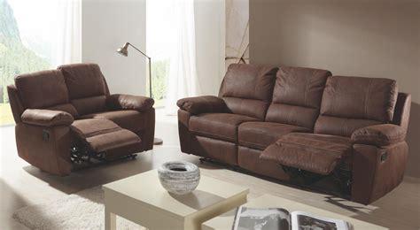 canape de relaxation ensemble canap 233 de relaxation 2 et 3 places manuel cuir