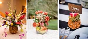 Deco Table Tropical : centre de table tropical ananas tropicool party pinterest centres de table tropicaux ~ Teatrodelosmanantiales.com Idées de Décoration