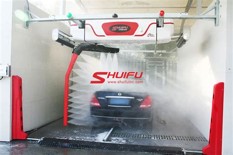 touchless car wash machine wash tunnel system