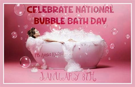 National Bubble Bath Day Pictures, Images, Photos For
