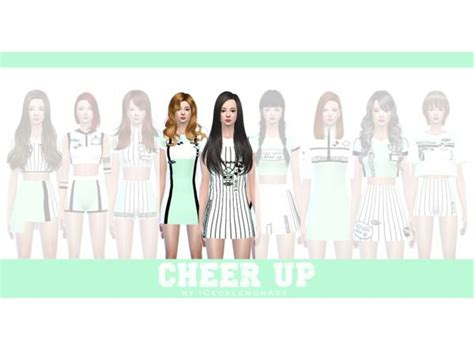 Twice  Cheerup  Tzuyu & Sana  The Sims 4 Download